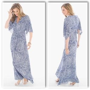 BRYN ETCHED TILE MAXI DRESS